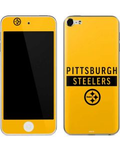 Pittsburgh Steelers Yellow Performance Series Apple iPod Skin