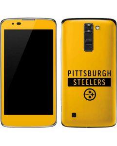 Pittsburgh Steelers Yellow Performance Series K7/Tribute 5 Skin