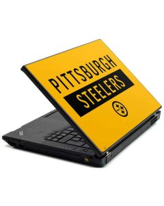 Pittsburgh Steelers Yellow Performance Series Lenovo T420 Skin