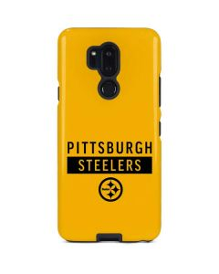 Pittsburgh Steelers Yellow Performance Series LG G7 ThinQ Pro Case