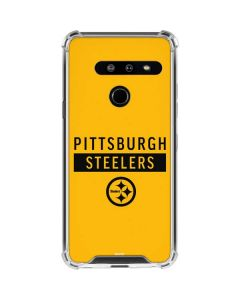 Pittsburgh Steelers Yellow Performance Series LG G8 ThinQ Clear Case