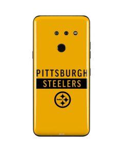 Pittsburgh Steelers Yellow Performance Series LG G8 ThinQ Skin