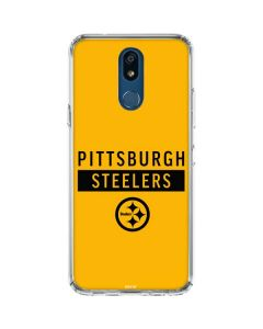 Pittsburgh Steelers Yellow Performance Series LG K30 Clear Case