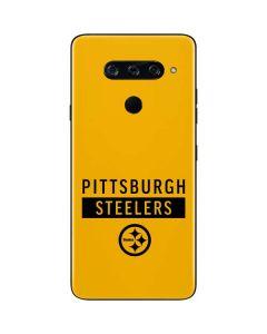 Pittsburgh Steelers Yellow Performance Series LG V40 ThinQ Skin