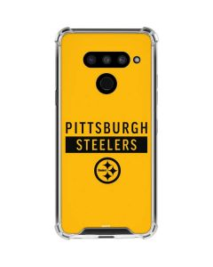 Pittsburgh Steelers Yellow Performance Series LG V50 ThinQ Clear Case