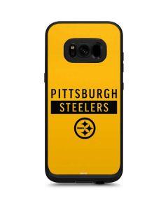 Pittsburgh Steelers Yellow Performance Series LifeProof Fre Galaxy Skin