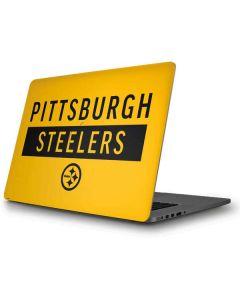 Pittsburgh Steelers Yellow Performance Series Apple MacBook Pro Skin