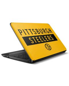 Pittsburgh Steelers Yellow Performance Series HP Notebook Skin