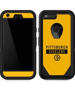 Pittsburgh Steelers Yellow Performance Series Otterbox Defender Pixel Skin