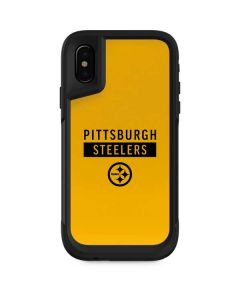 Pittsburgh Steelers Yellow Performance Series Otterbox Pursuit iPhone Skin