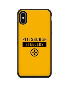 Pittsburgh Steelers Yellow Performance Series Otterbox Symmetry iPhone Skin
