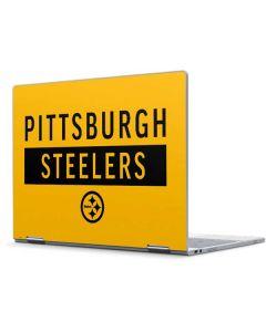 Pittsburgh Steelers Yellow Performance Series Pixelbook Skin