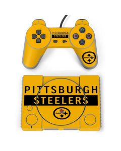 Pittsburgh Steelers Yellow Performance Series PlayStation Classic Bundle Skin