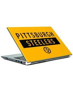 Pittsburgh Steelers Yellow Performance Series Portege Z30t/Z30t-A Skin