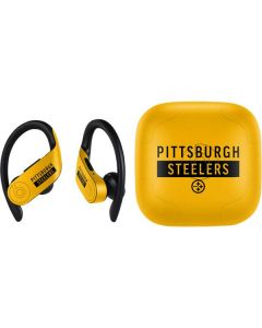 Pittsburgh Steelers Yellow Performance Series PowerBeats Pro Skin