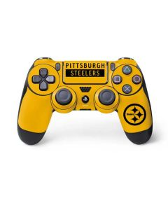 Pittsburgh Steelers Yellow Performance Series PS4 Controller Skin