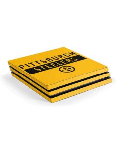 Pittsburgh Steelers Yellow Performance Series PS4 Pro Console Skin
