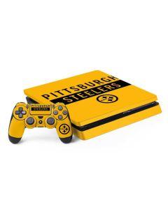 Pittsburgh Steelers Yellow Performance Series PS4 Slim Bundle Skin