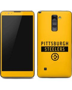 Pittsburgh Steelers Yellow Performance Series Stylo 2 Skin