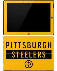 Pittsburgh Steelers Yellow Performance Series Surface 3 Skin