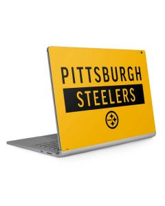 Pittsburgh Steelers Yellow Performance Series Surface Book 2 13.5in Skin