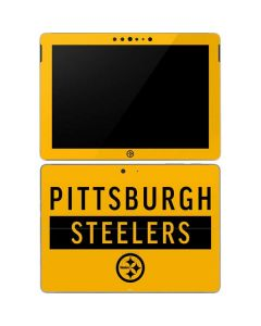 Pittsburgh Steelers Yellow Performance Series Surface Go Skin