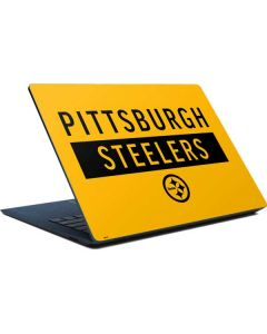 Pittsburgh Steelers Yellow Performance Series Surface Laptop Skin