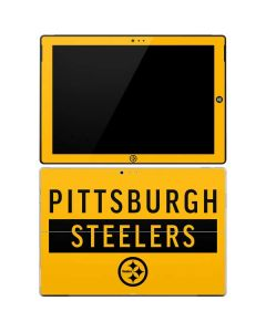 Pittsburgh Steelers Yellow Performance Series Surface Pro 3 Skin