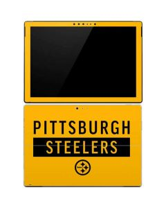 Pittsburgh Steelers Yellow Performance Series Surface Pro 4 Skin