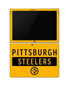 Pittsburgh Steelers Yellow Performance Series Surface Pro 6 Skin