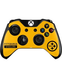 Pittsburgh Steelers Yellow Performance Series Xbox One Controller Skin