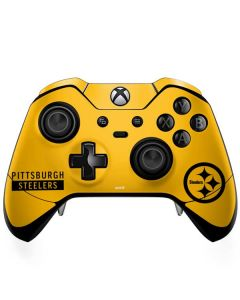 Pittsburgh Steelers Yellow Performance Series Xbox One Elite Controller Skin