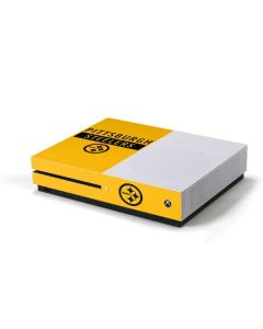 Pittsburgh Steelers Yellow Performance Series Xbox One S Console Skin