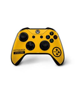 Pittsburgh Steelers Yellow Performance Series Xbox One X Controller Skin