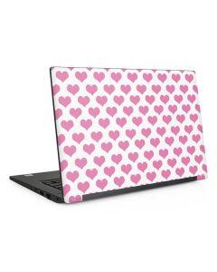 Plush Pink Hearts Dell Latitude Skin