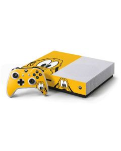 Pluto Up Close Xbox One S Console and Controller Bundle Skin