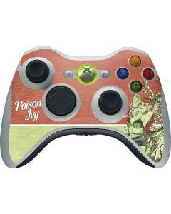 Poison Ivy Xbox 360 Wireless Controller Skin