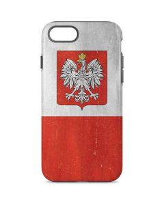 Poland Flag Distressed iPhone 8 Pro Case