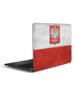 Poland Flag Distressed Zenbook UX305FA 13.3in Skin