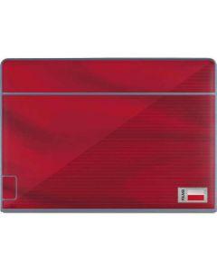 Poland Soccer Flag Galaxy Book Keyboard Folio 12in Skin