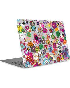 Pop Garden White Apple MacBook Air Skin