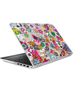 Pop Garden White HP Pavilion Skin