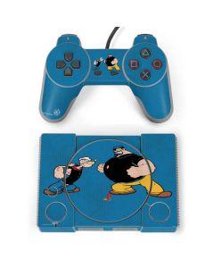 Popeye Brutus Fighting PlayStation Classic Bundle Skin