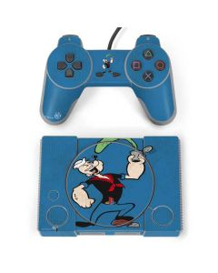 Popeye Eating Spinach PlayStation Classic Bundle Skin