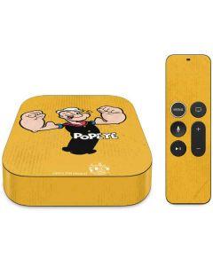 Popeye Flexing Apple TV Skin