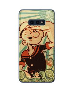 Popeye out at Sea Galaxy S10e Skin