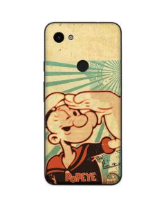 Popeye out at Sea Google Pixel 3a Skin