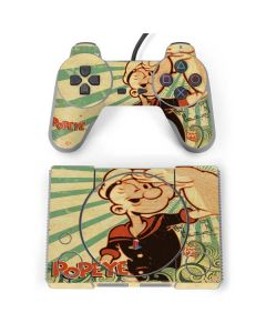 Popeye out at Sea PlayStation Classic Bundle Skin