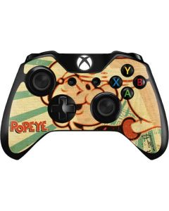 Popeye out at Sea Xbox One Controller Skin