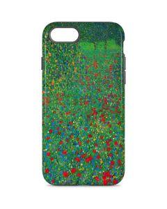 Poppy Field by Gustav Klimt iPhone 7 Pro Case